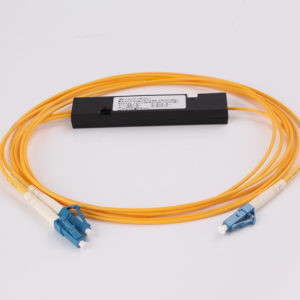 1-to-2-singlemode-abs-module-fused-type-optical-fiber-splitter-with-lc-pc-connectors