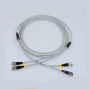 FC to FC Multimode duplex fiber optic patch cables