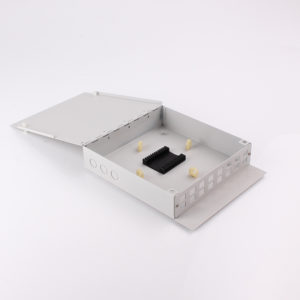 FTB 116 132 metal ftth wall mount terminal box-FTTH drop cable inside view