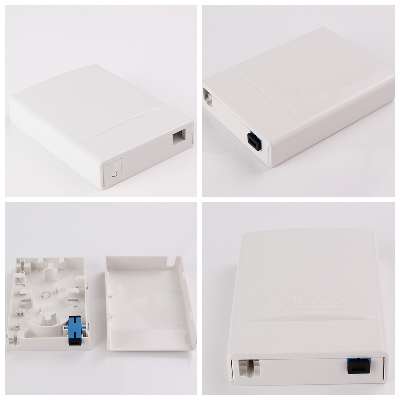 FTTH access Termination Box 2 Port Output Faceplate