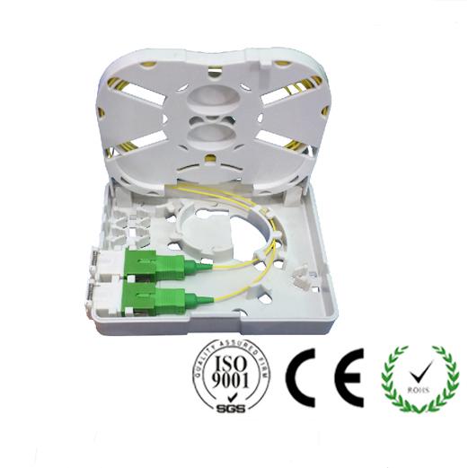 FTTH01D Single Fiber FTTH Fiber Optic Socket Panel