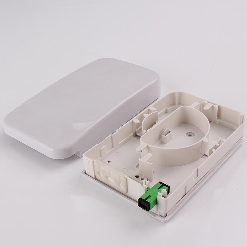 FTTH02B 2 Cores Ftth Mini Fiber Optic Terminal Box