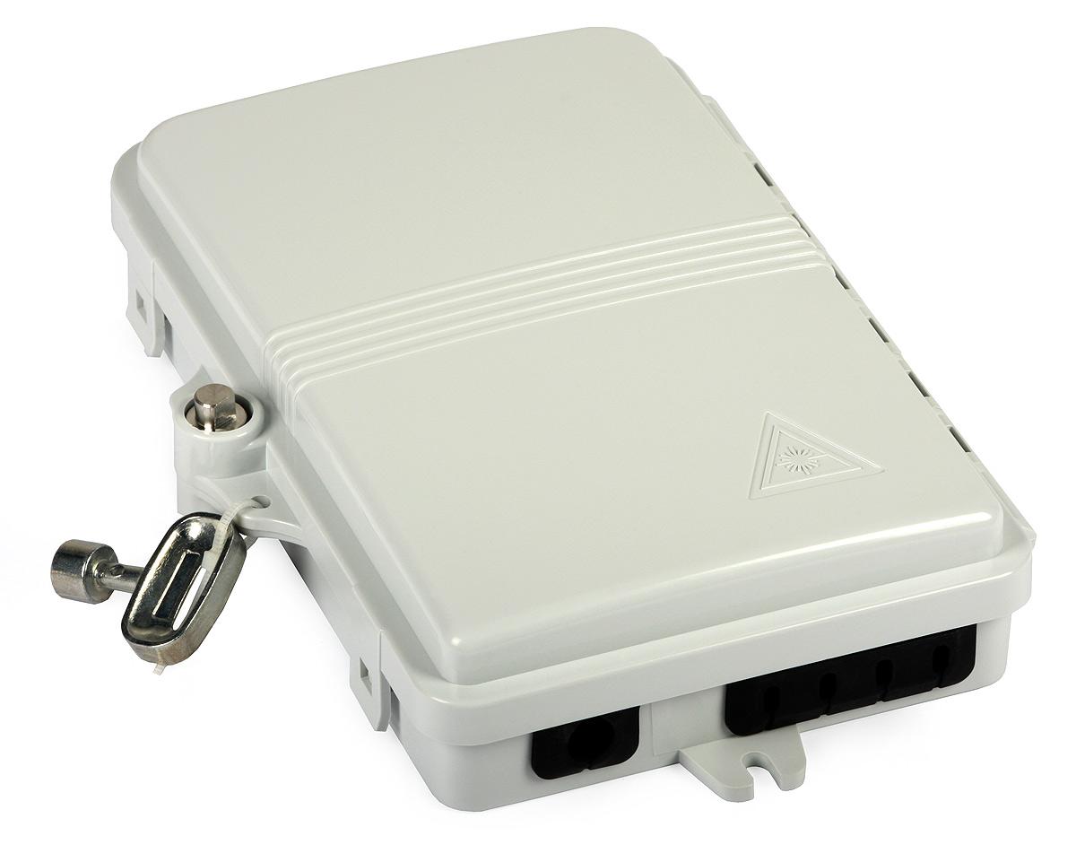 FTTH04B 4 fiber Mini FTTH terminal boxes overview