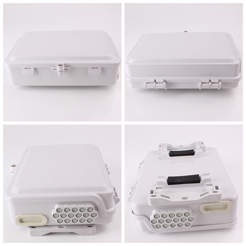 FTTH16B 16 Cores FTTH Optical Distribution Box out side view