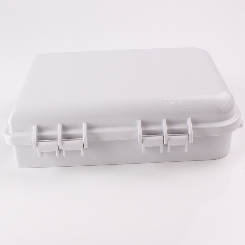 FTTH16C 16 Cores FTTH Optical Fiber Distribution Box Side view