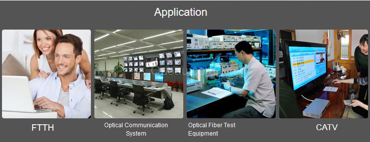 Fiber optic distributions box Application