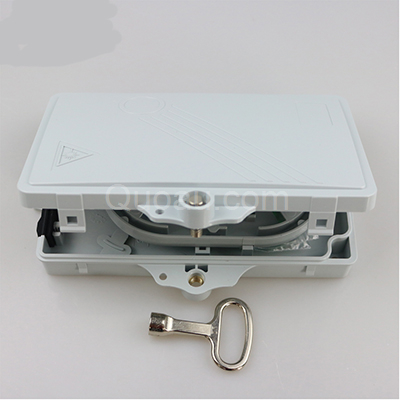 FTTH02A 2 Cores FTTH Optical Distribution Box side view