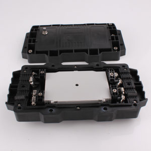 Horizontal OEM&ODM Fiber Optic Splice Enclosure FOSCHE inside view