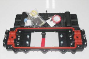 In line Custom & OEM Fiber Optic Splice Joint Enclosures FOSCHD