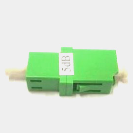 LC APC Fiber optic attenuator 5dB