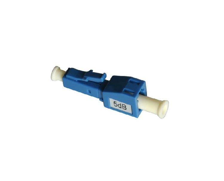 LC/pc male to female fiber optic attenuator