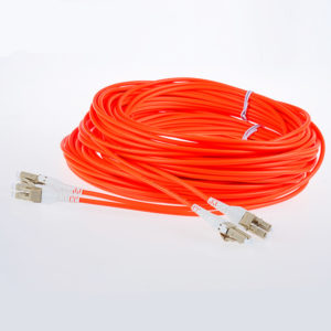 LC to LC Duplex OM2 fiber optic patch cords