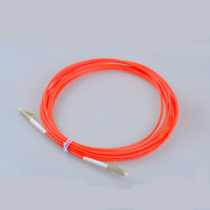 LC to LC multimode simplex Fiber Optic Patch Cables
