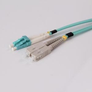 LC to SC Multimode OM2 Duplex 3.0mm Hybrid Fiber Optic Patch cord