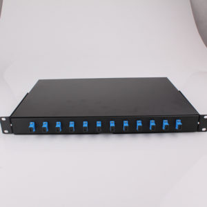 RTBA 12ports Rack mountable fiber optic patch panel