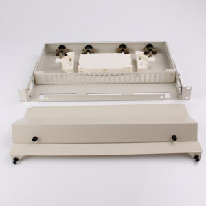 RTBC 12C 24C 48C Rack Mount ftth odf fiber termination box inside view