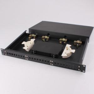 RTBD SC FC ST 24ports FTTH fiber optic termination box inside view
