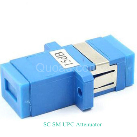 SC/UPC Singlemode attenuator