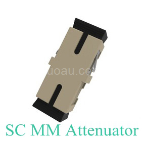 SC/UPC Multimode attenuator