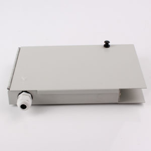 WTBB 8 Fiber 16 Fiber Wall Mount Fiber Optic Termination Box side view
