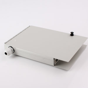 WTBB 8 Fiber or 16 Fiber Wall Mount Fiber Optic Termination Box sideview