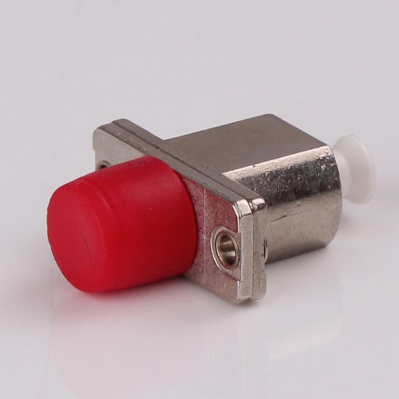 FC Male To LC Female Fiber Optic Network Hybrid Adapter