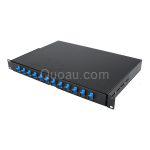 24 cores SC Rack Mounted Fiber Optic Patch Panel / RTBA Rack mountable ODF