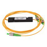 1x2 FC Single Mode Single WindowFBT Fiber Optic Splitter