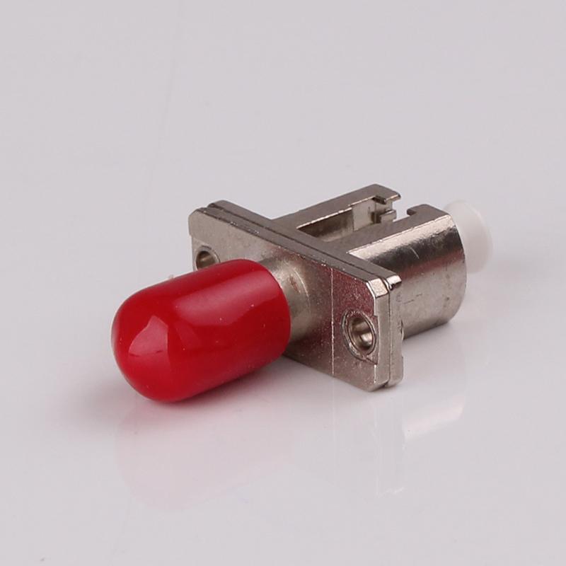 SC Male to LC Female Singlemode Fiber Optic Hybrid Adapter