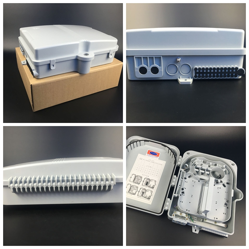 24ports Indoor Outdoor FTTH Splitter Terminal (distribution) Box FTTH24B