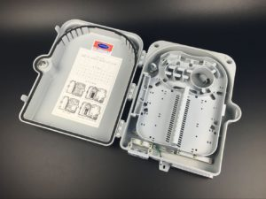 optical fiber distribution box FTTH24B Grey02