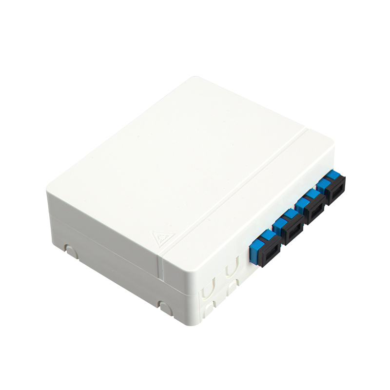 4 ports Compact FTTH Series Desktop Termination Box FTTH04D.
