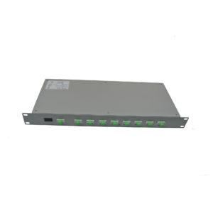 odf-rack-mount-splitters-19-1u-fiber-optic-splitters-1x8-stapc