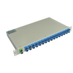 1x16 PLC Splitter 1U Rack Mount Manufacturer