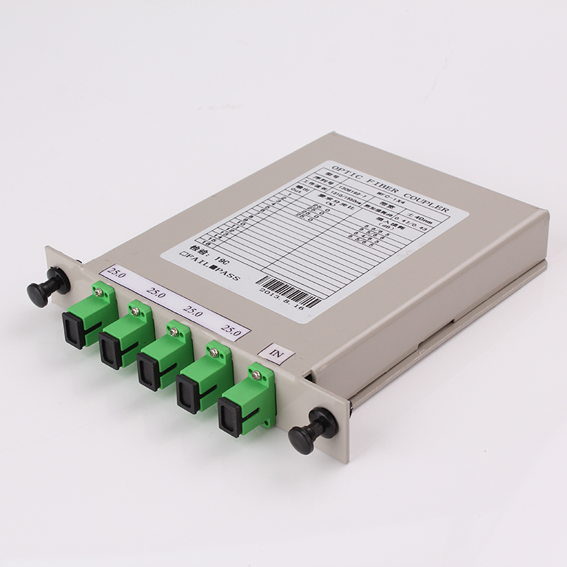 Cassette PLC LGX Box plug in fiber beam splitter