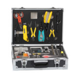 Fiber optic constructure tool kits