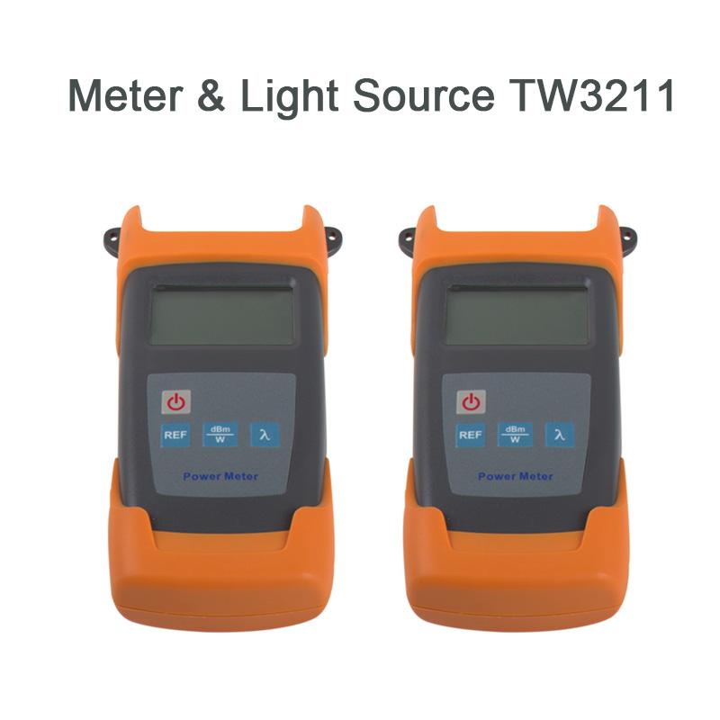 Fiber optic Power Meter & Light Source TW3211