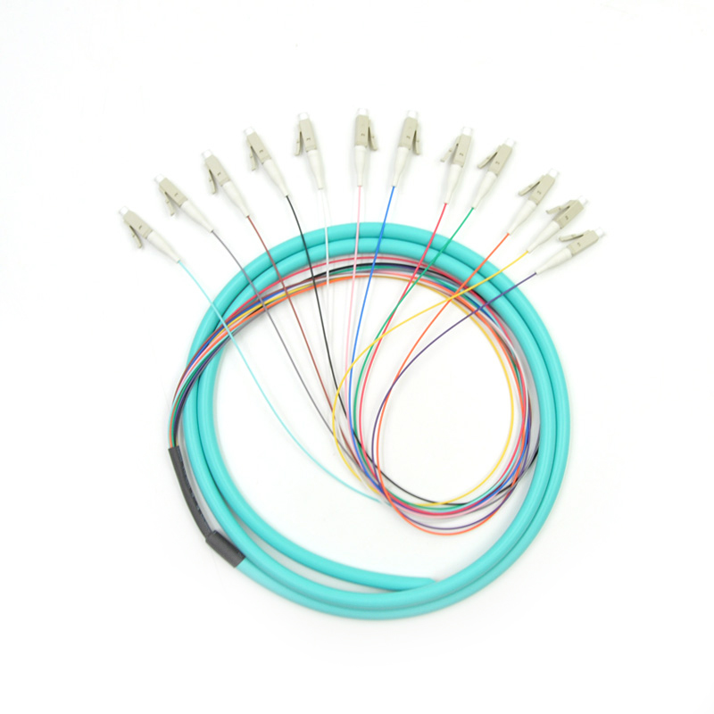 12 Fiber Multimode Bunch Fiber Optic Pigtai