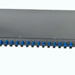 1u rack mount 1x16 SC UPC plc splitter box manufacturer