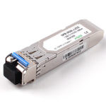 Cisco Compatible 1.25Gbps LC SFP BiDi DOM Fiber Optic Transceivers SFP-1.25G-1310NM-20KM.