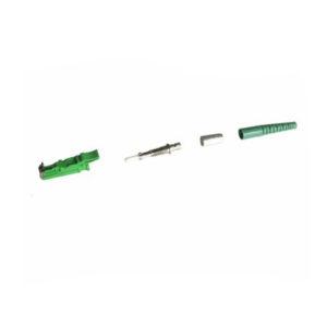 Fiber optic connectors E2000 APC singlemode simplex parts