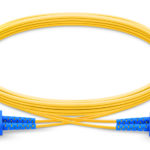 Fiber optic patch cable SC UPC to SC UPC duplex single mode