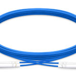LC UPC to LC UPC Duplex Single Mode Armored fiber optic patch cable Quoau
