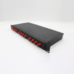 fc rack mounted fiber distribution box 1u 24core