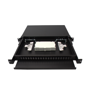 1RU Slidable rack mount Enclosure