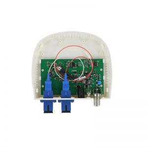 AGC FTTH CATV fiber optic mini receiver node WDM`.